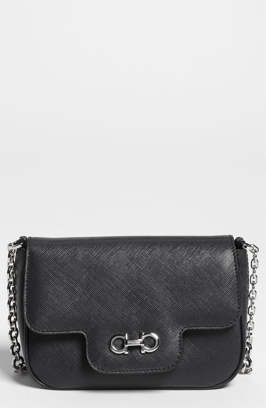 Alternate Image 1 Selected - Salvatore Ferragamo 'Fancy' Leather Shoulder Bag