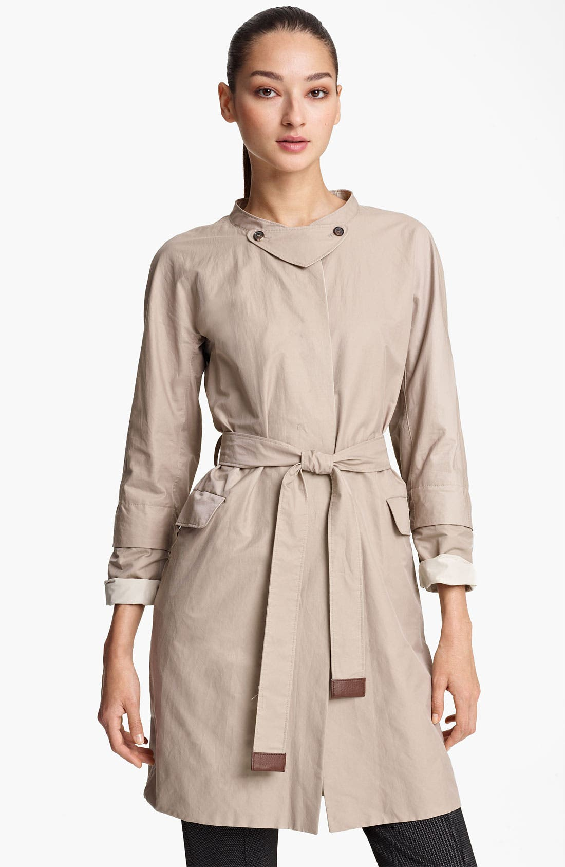 Main Image - Max Mara Belted Trench Coat