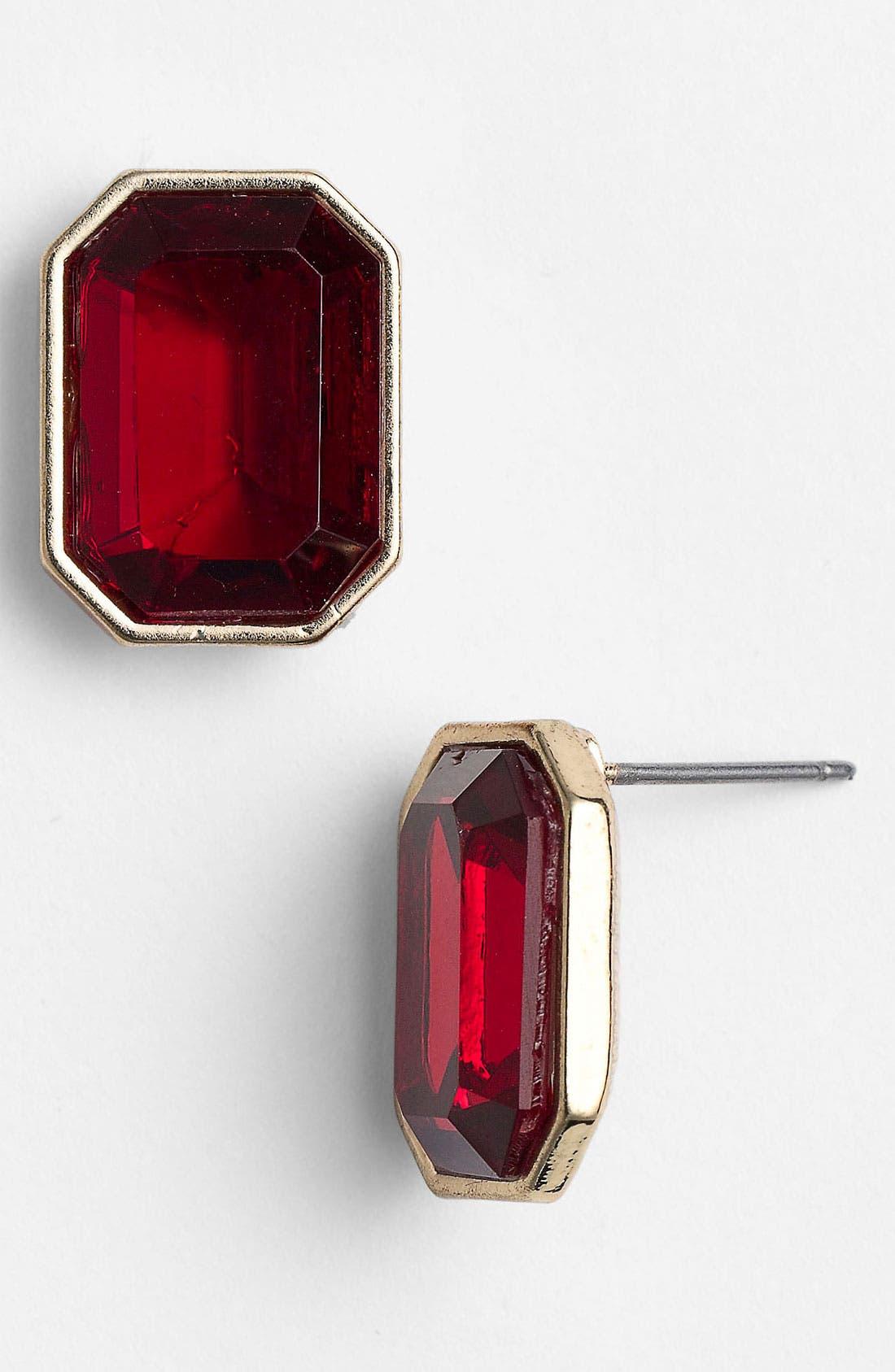 Alternate Image 1 Selected - Anne Klein Stud Earrings