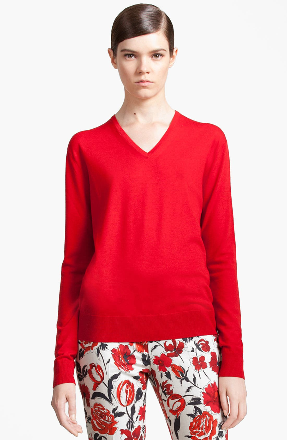 Alternate Image 1 Selected - Jil Sander Navy Wool Sweater