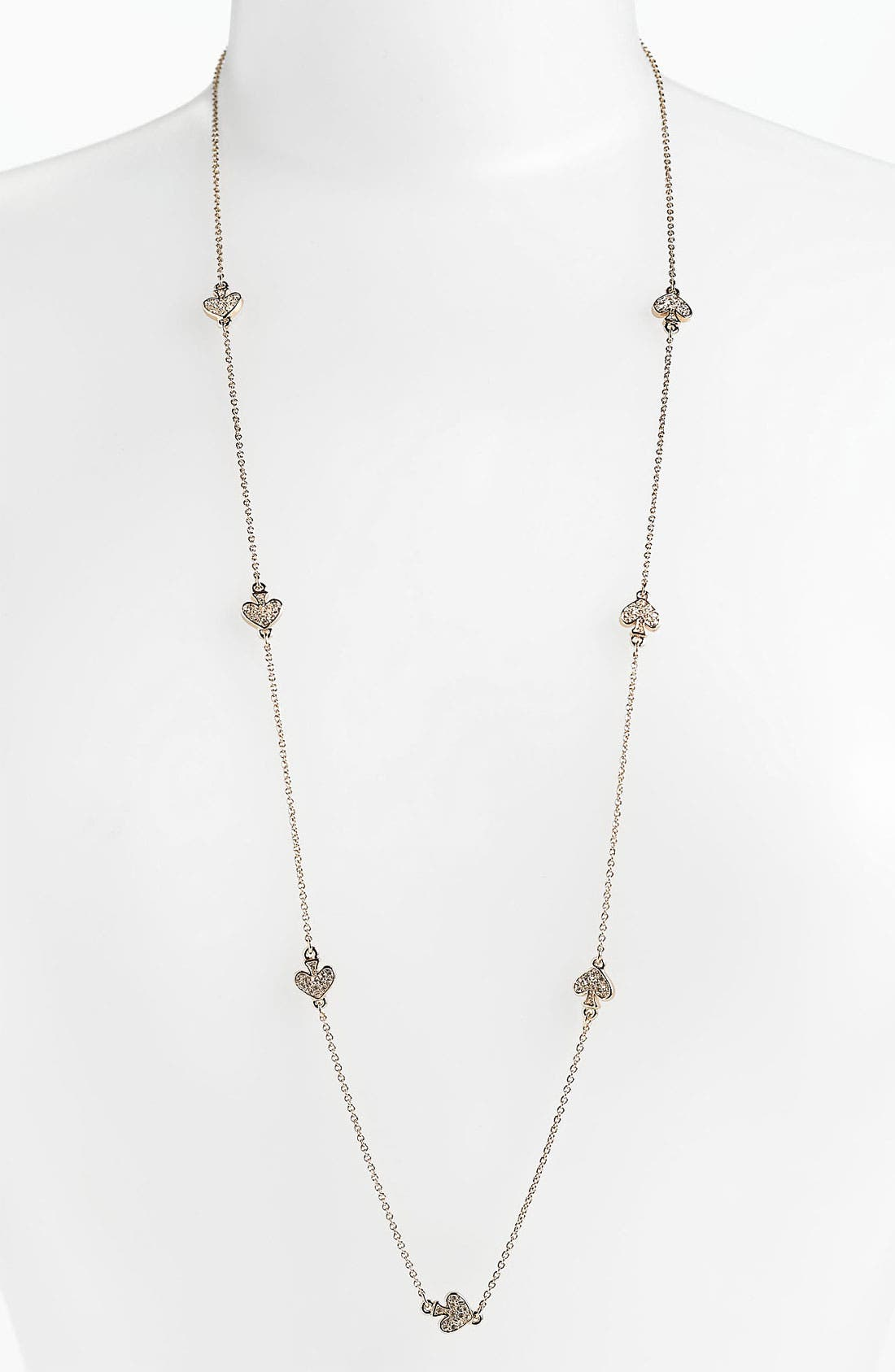 Main Image - kate spade new york 'spade to spade' long station necklace