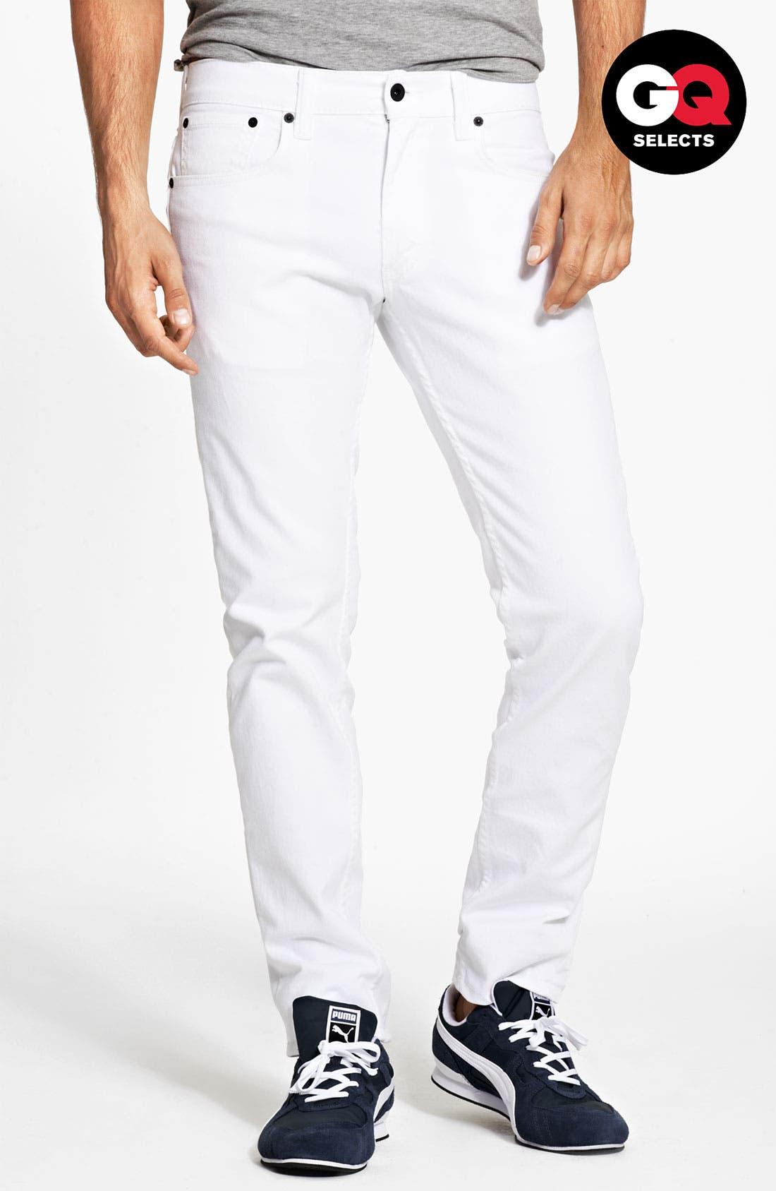 Main Image - Levi's® '511™' Skinny Jeans (White)