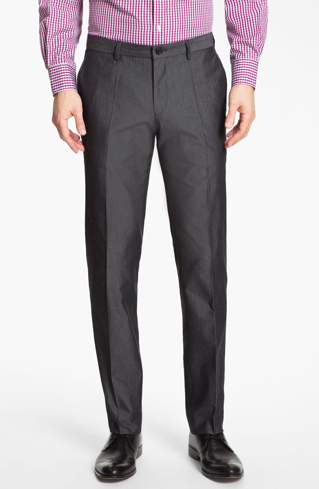 Alternate Image 4  - BOSS HUGO BOSS 'Heaven/Fly' Trim Fit Cotton Blend Suit