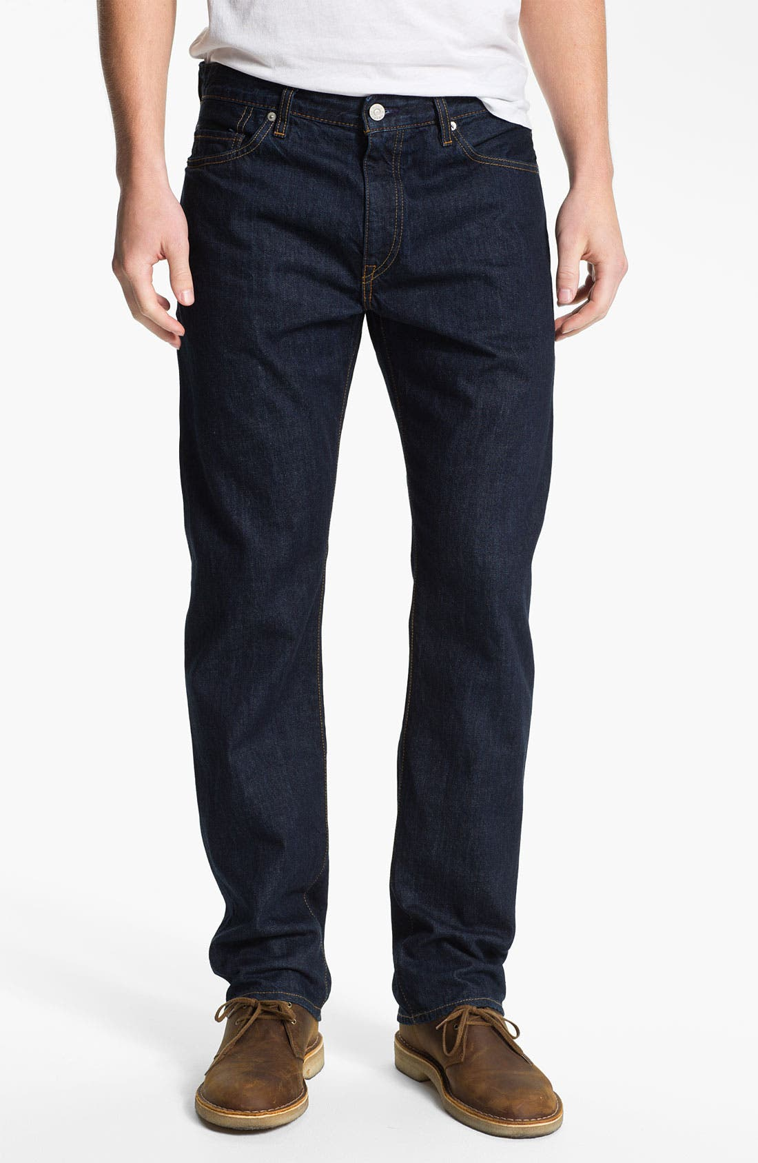 Alternate Image 1 Selected - Levi's® Made & Crafted™ 'Cutter' Relaxed Straight Leg Jeans (Easy Rinse)