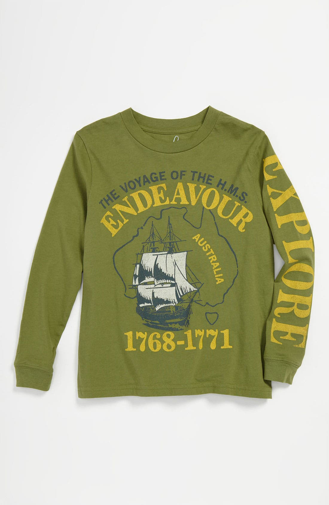 Alternate Image 1 Selected - Peek 'Endeavor Voyage' T-Shirt (Toddler, Little Boys & Big Boys)