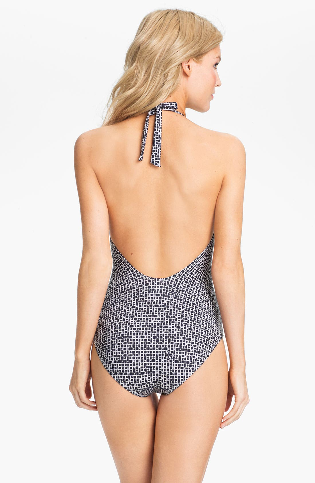 Alternate Image 2  - Tory Burch Print One Piece Swimsuit