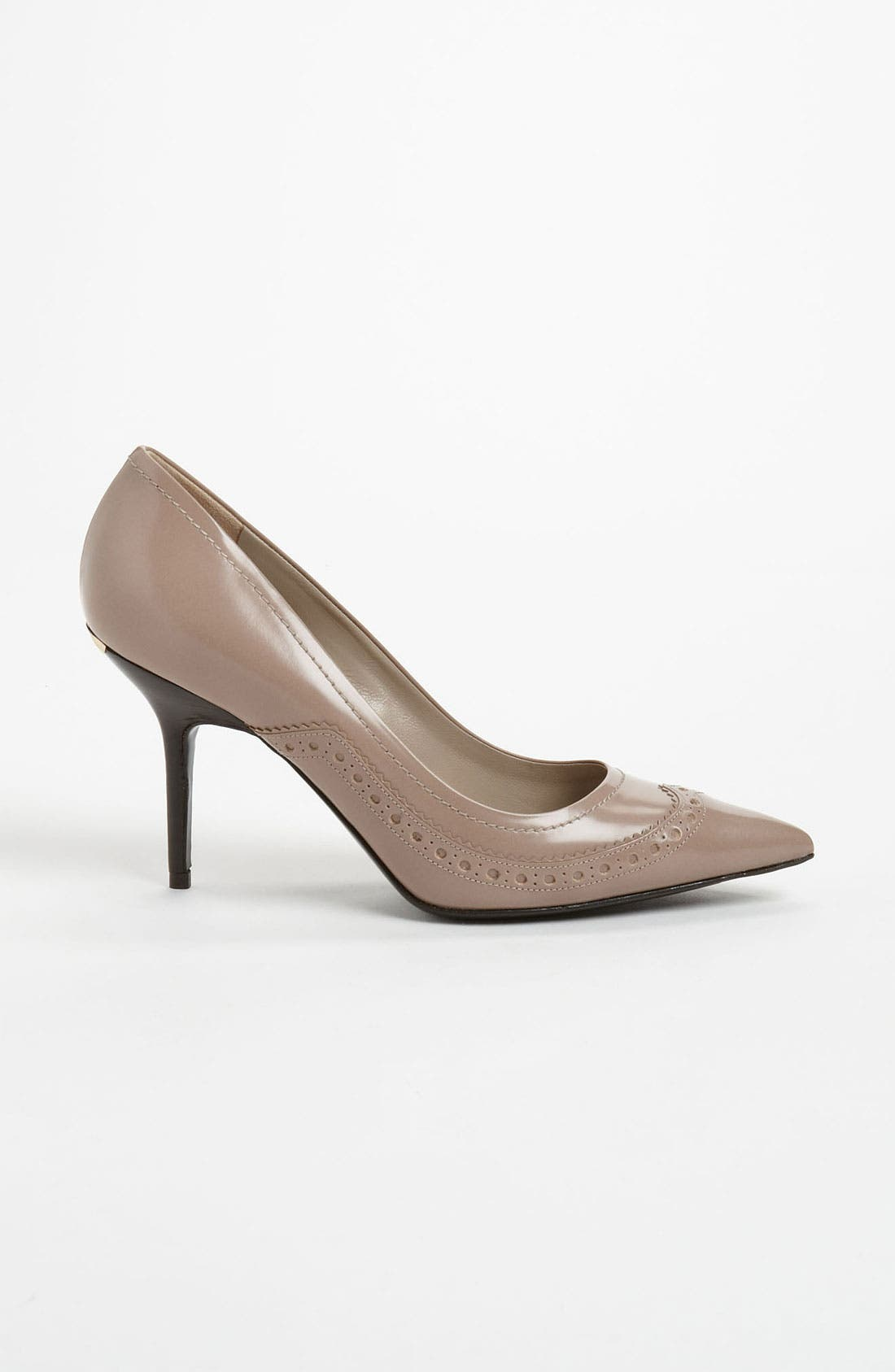 Alternate Image 4  - Burberry 'Kenway' High Pump