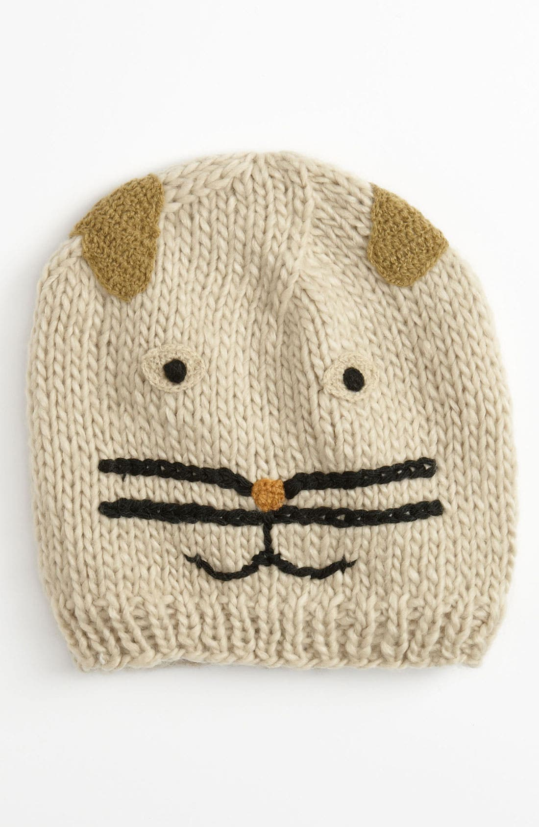 Main Image - The Accessory Collective 'Cat' Hat (Girls)