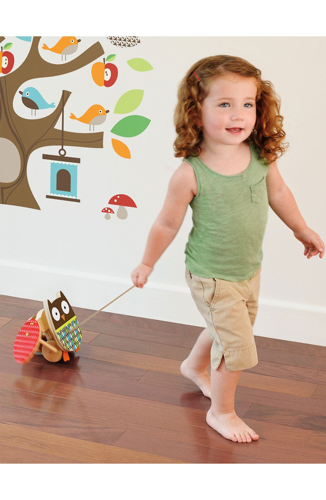 Alternate Image 3  - Skip Hop 'Treetop Friends - Flapping Owl' Pull Toy (Toddler)