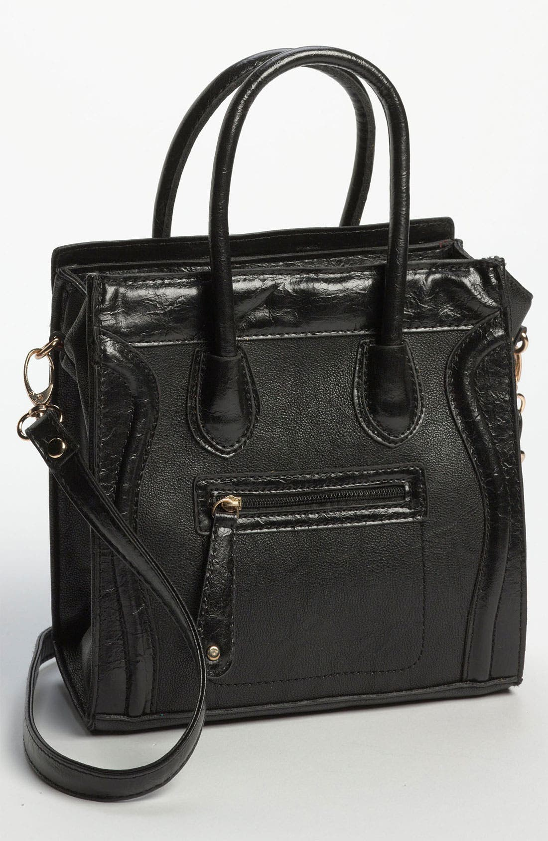 Main Image - Street Level Structured Tote Bag