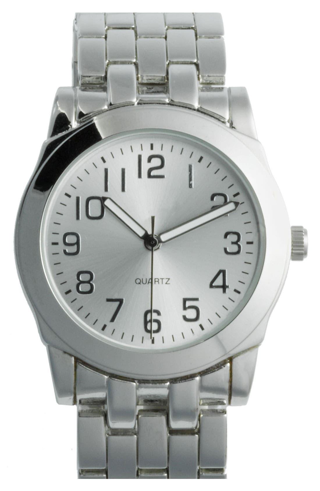 Alternate Image 1 Selected - Titanium Classic Analog Watch