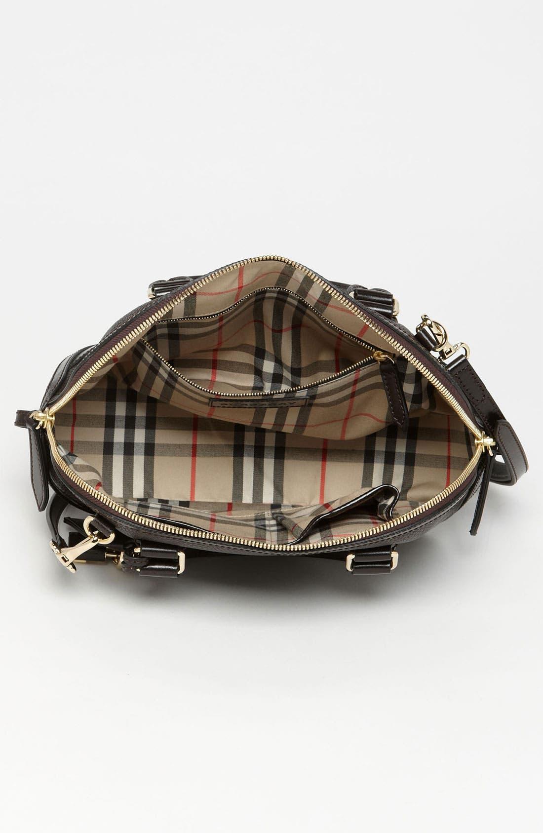 Alternate Image 3  - Burberry 'London Grainy' Leather Satchel