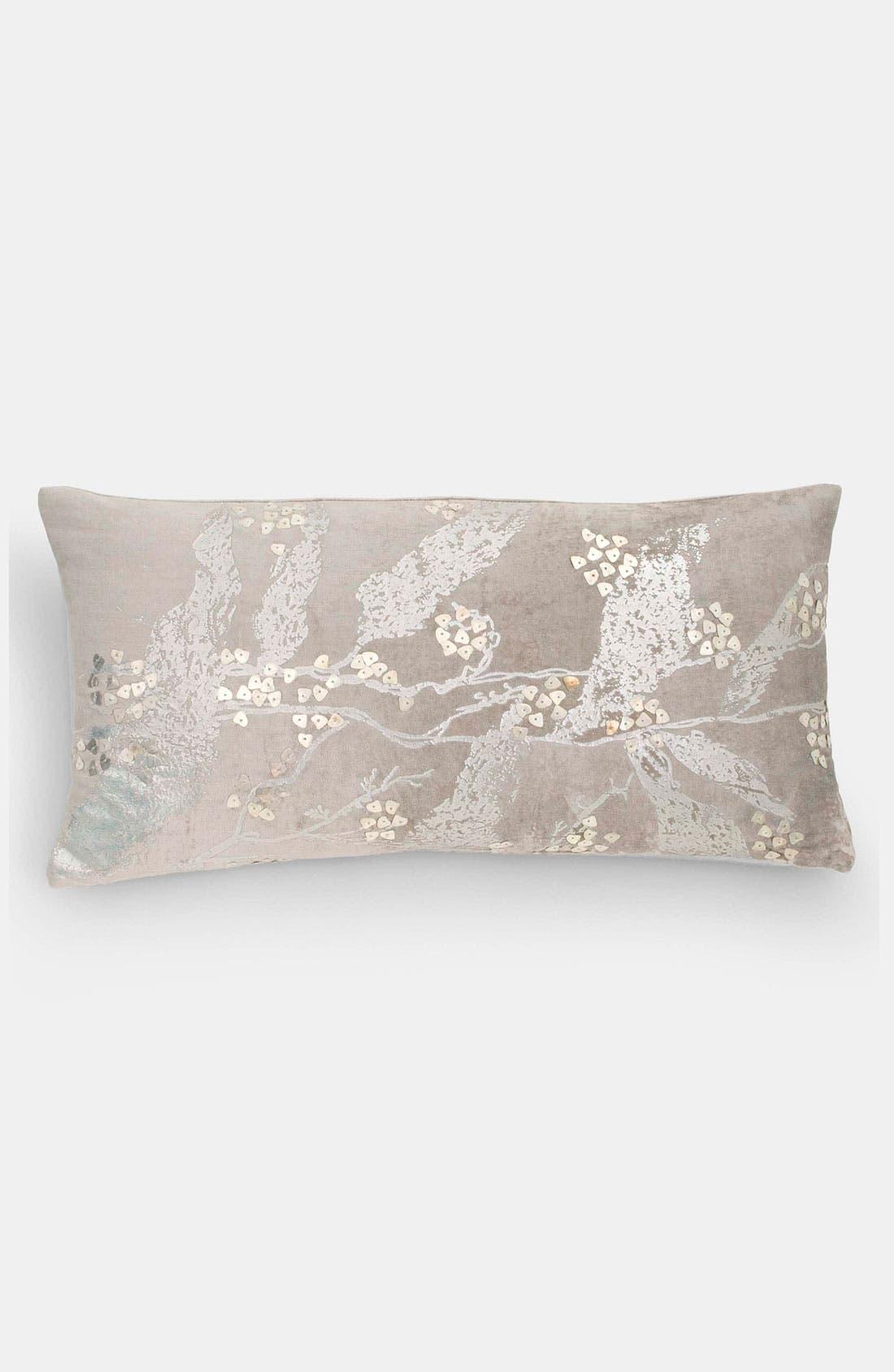 Alternate Image 1 Selected - Donna Karan 'Velvet Foil' Pillow (Online Only)
