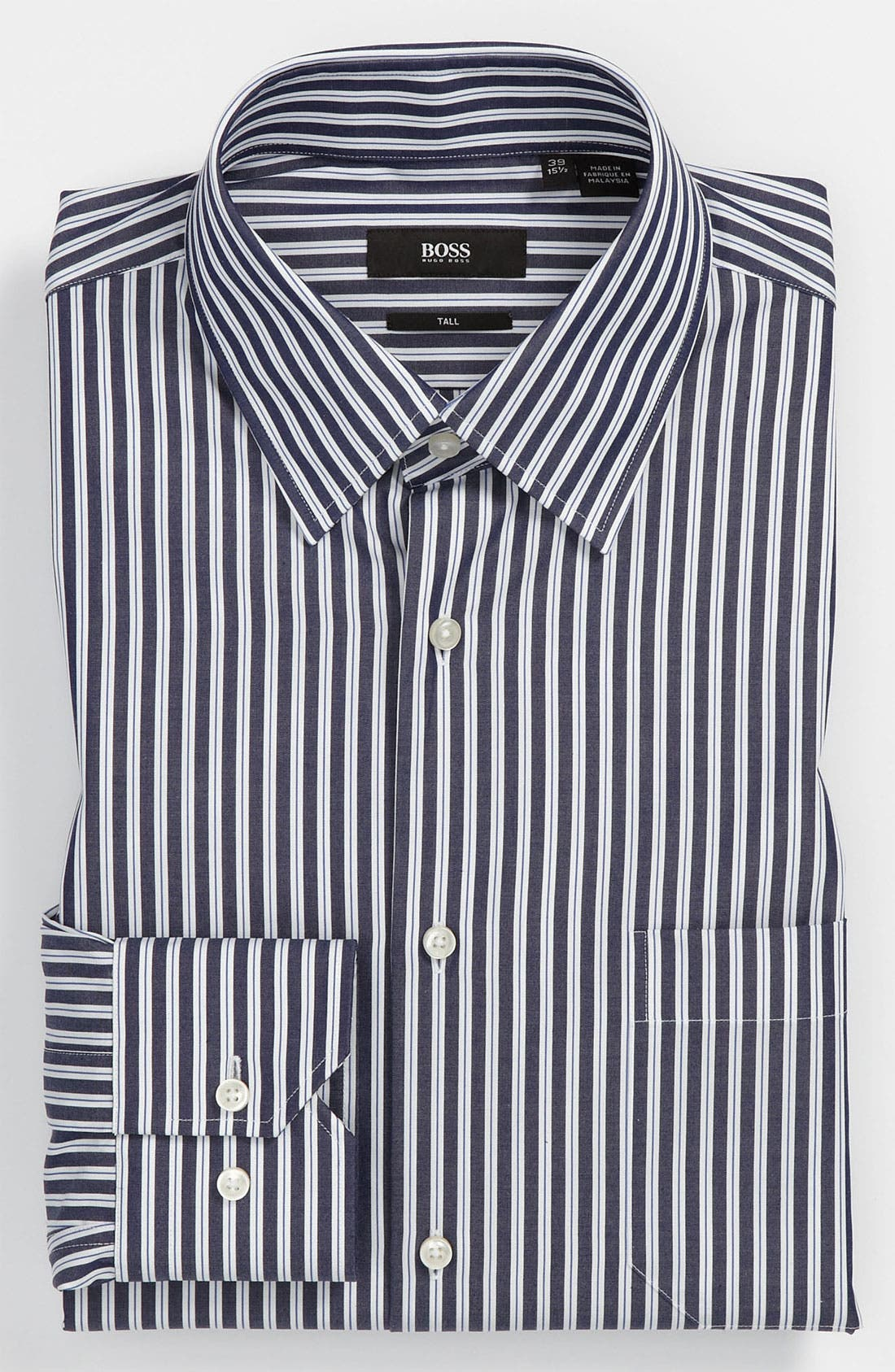 Alternate Image 1 Selected - BOSS Black Regular Fit Non-Iron Dress Shirt (Big & Tall) (Online Exclusive)