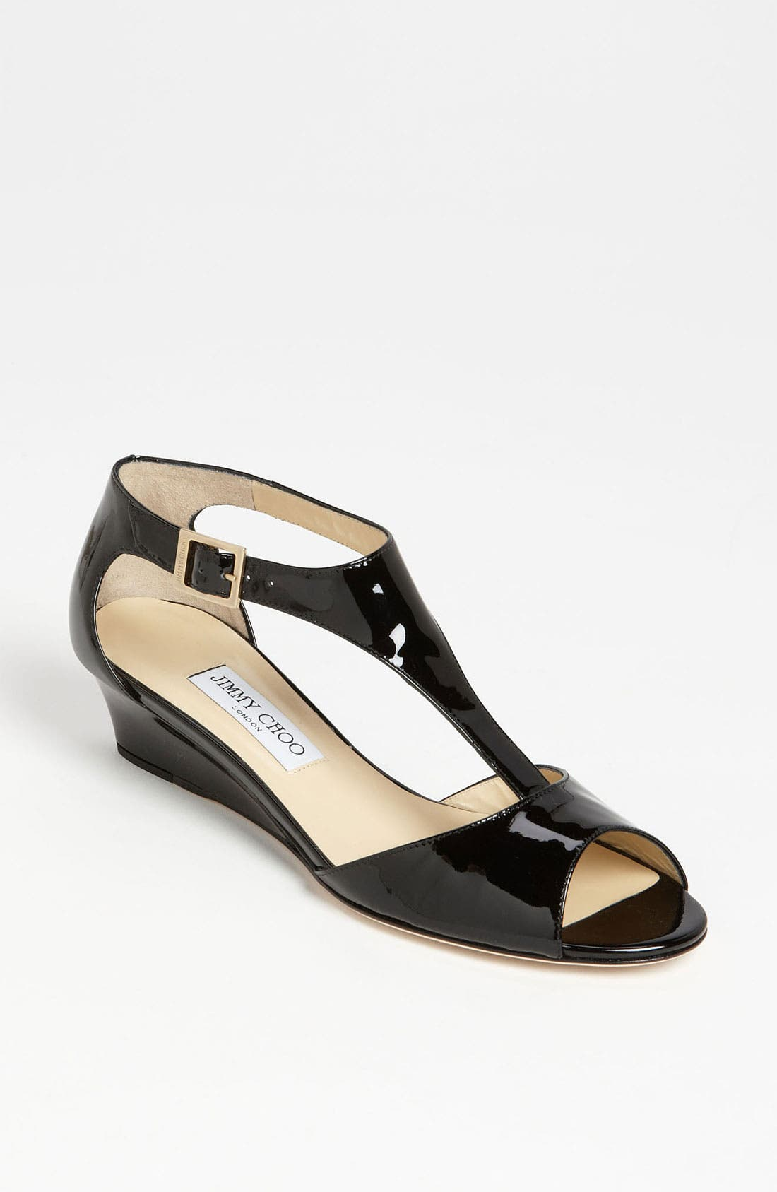 Alternate Image 1 Selected - Jimmy Choo 'Treat' T-Strap Sandal