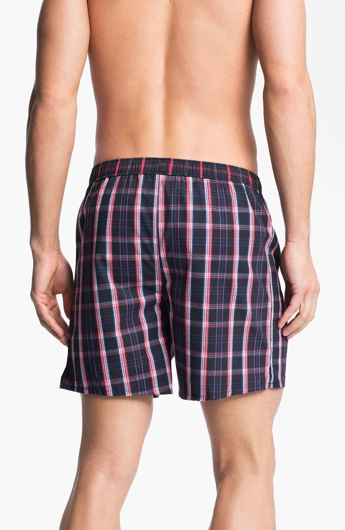 Alternate Image 2  - Coopers by Jockey® Woven Boxer Shorts