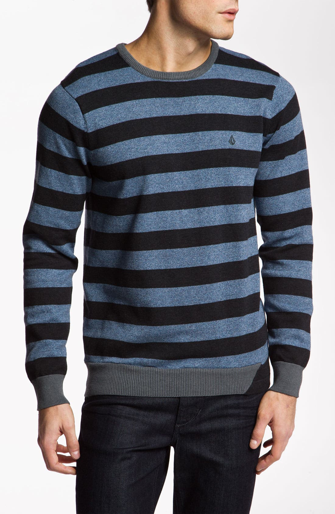 Alternate Image 1 Selected - Volcom 'Other Circle' Crewneck Sweater