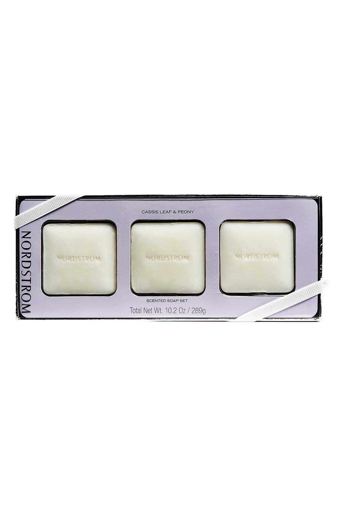 Main Image - Nordstrom 'Cassis Leaf & Peony' Scented Soap Set