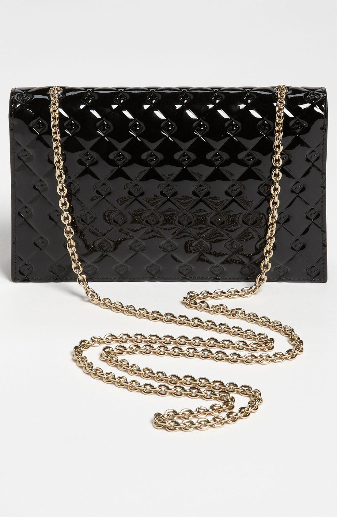 Alternate Image 4  - Fendi 'Fendilicious' Patent Wallet on a Chain