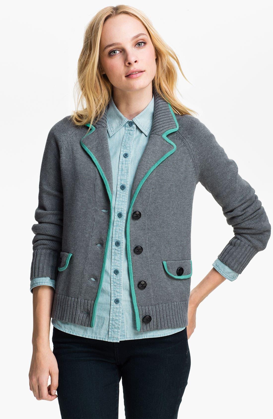 Main Image - Caslon® Sweater Jacket