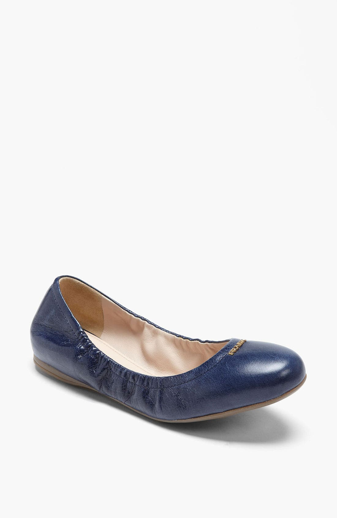 Alternate Image 1 Selected - Prada Logo Ballet Flat