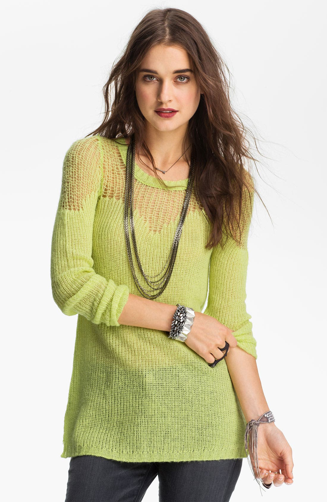 Main Image - Free People Sweetheart Sweater