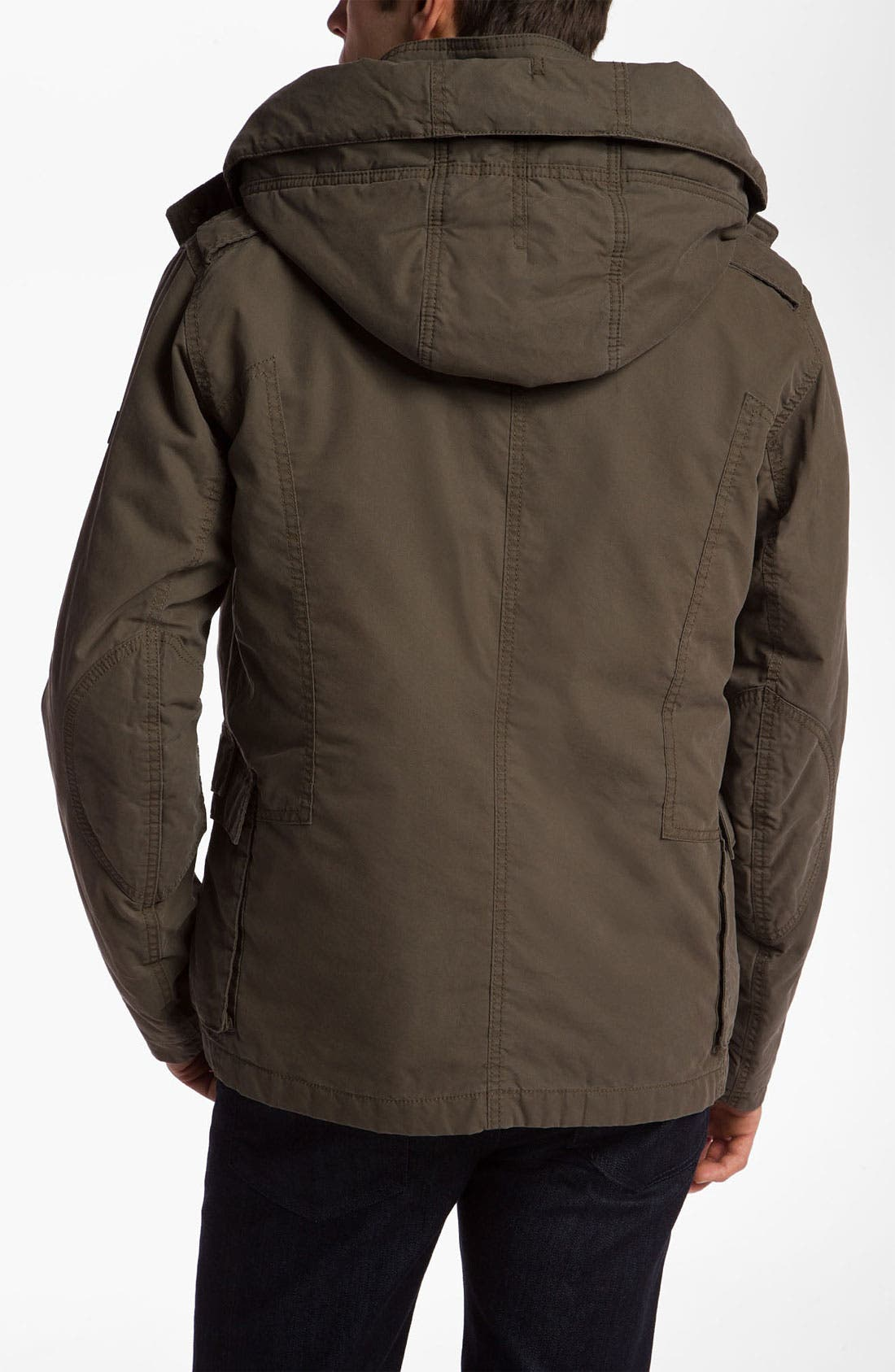 Alternate Image 2  - BOSS Orange 'Ovras' Cotton Blend Jacket