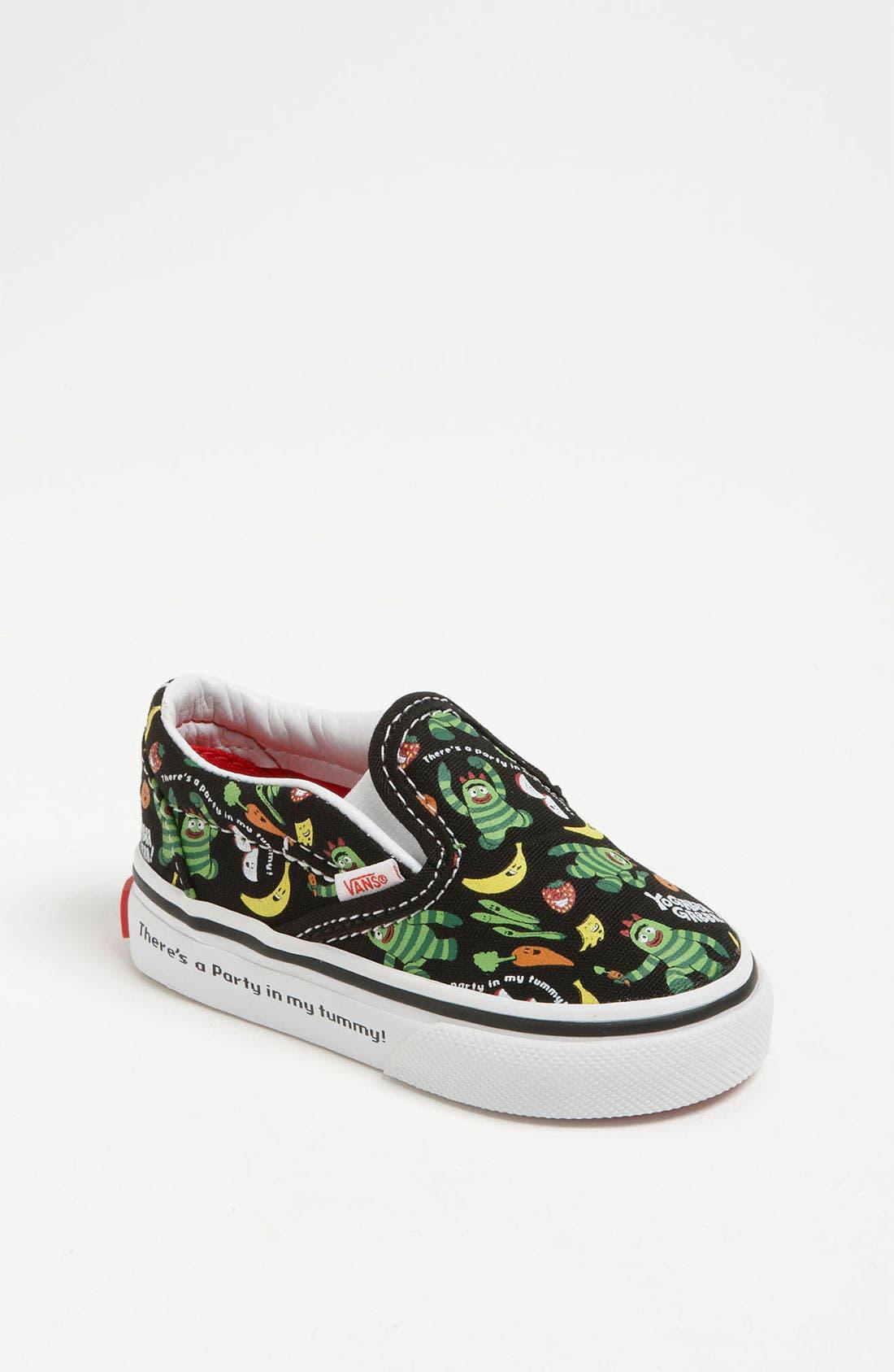 Main Image - Vans 'Classic - Yo Gabba Gabba!™' Slip-On Sneaker (Baby, Walker & Toddler)
