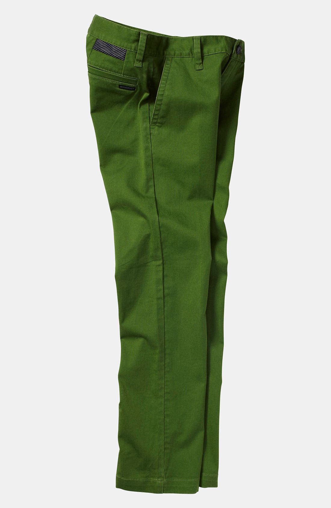 Alternate Image 2  - Quiksilver 'Box Wire' Slim Straight Leg Chino Pants (Little Boys)