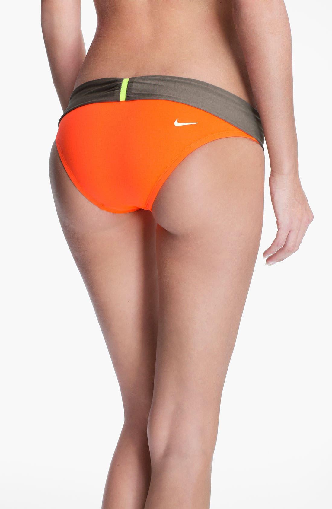 Alternate Image 2  - Nike 'Bondi' Colorblock Bikini Bottoms