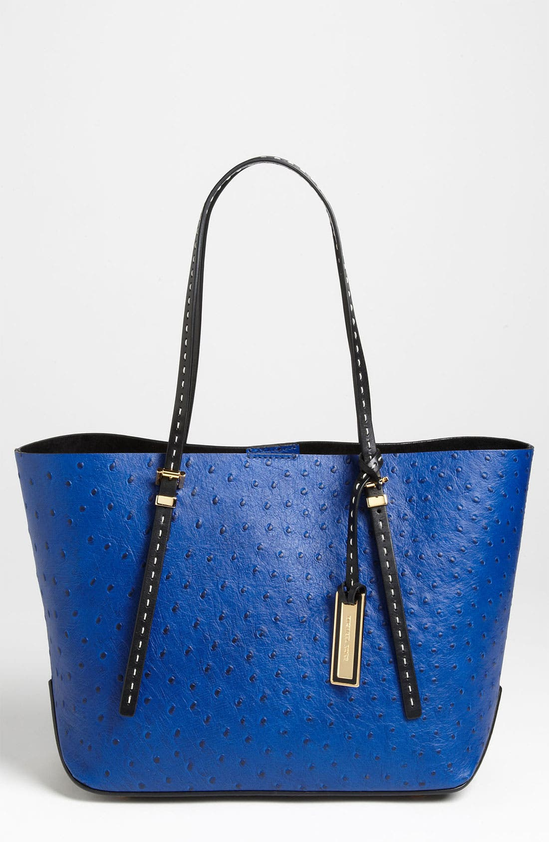 Alternate Image 1 Selected - Michael Kors 'Gia - Small' Ostrich Embossed Leather Tote