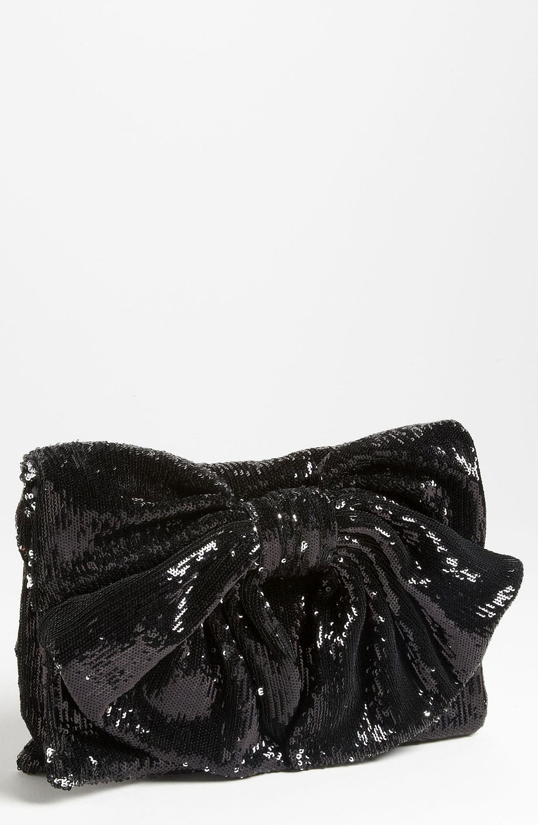 Alternate Image 1 Selected - RED Valentino Sequin Bow Clutch