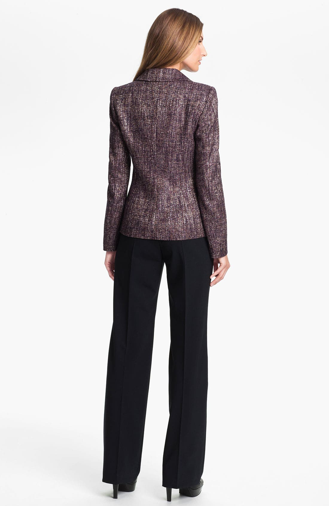 Alternate Image 4  - Santorelli 'Gina' Straight Leg Wool Trousers