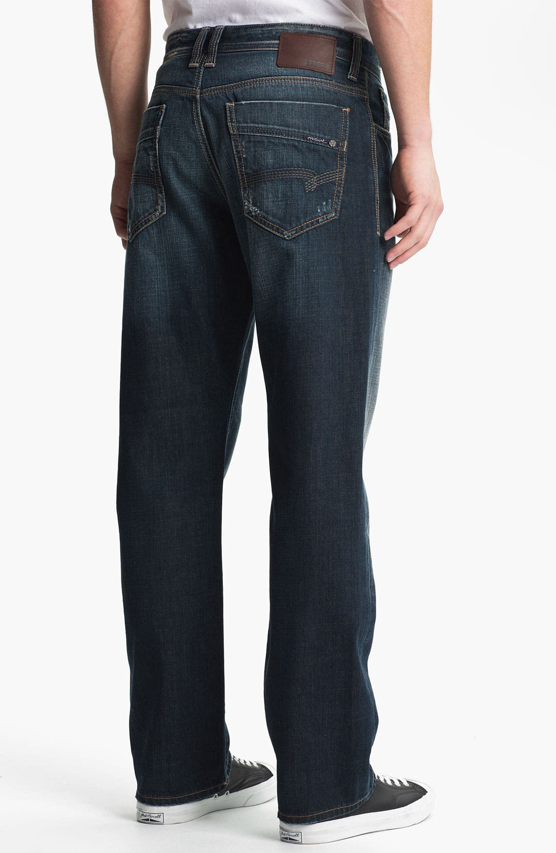 Alternate Image 1 Selected - Mavi Jeans 'Matt' Relaxed Straight Leg Jeans (Used American Vintage)