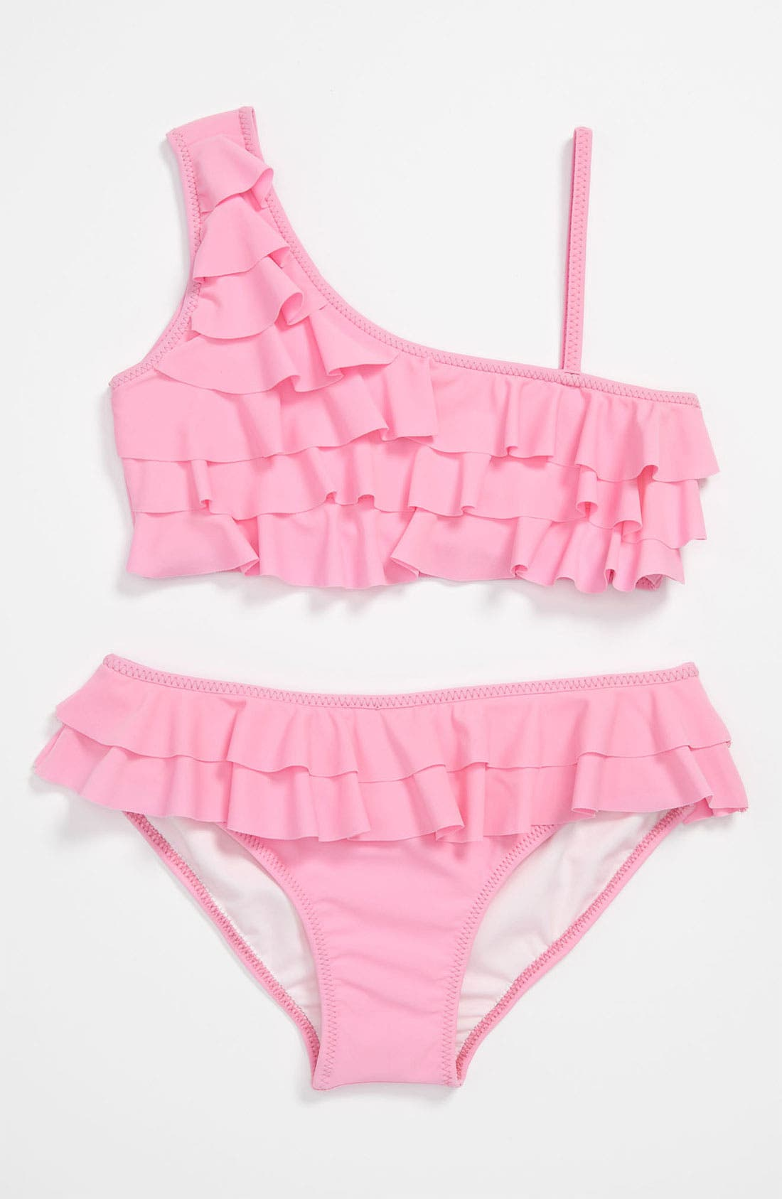 Main Image - To The 9's Two Piece Swimsuit (Big Girls)
