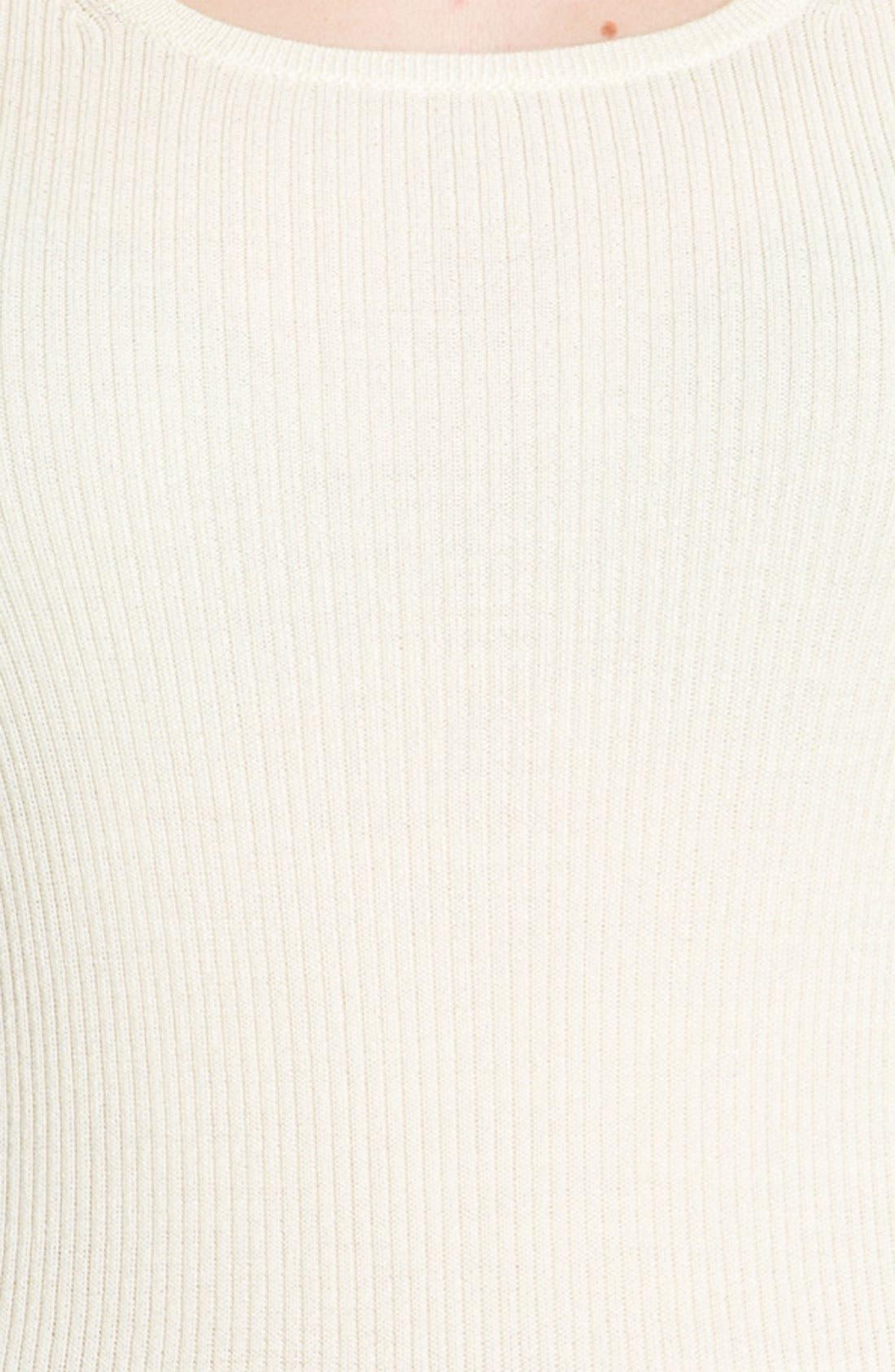 Alternate Image 5  - St. John Collection Rib Knit Shell