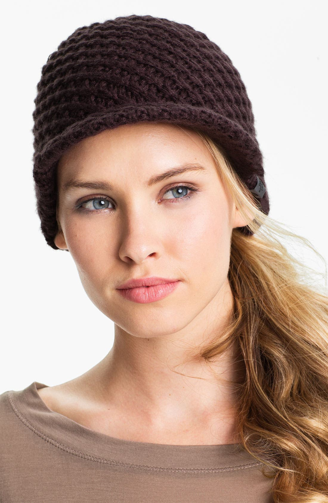 Alternate Image 1 Selected - The North Face Chunky Visor Beanie