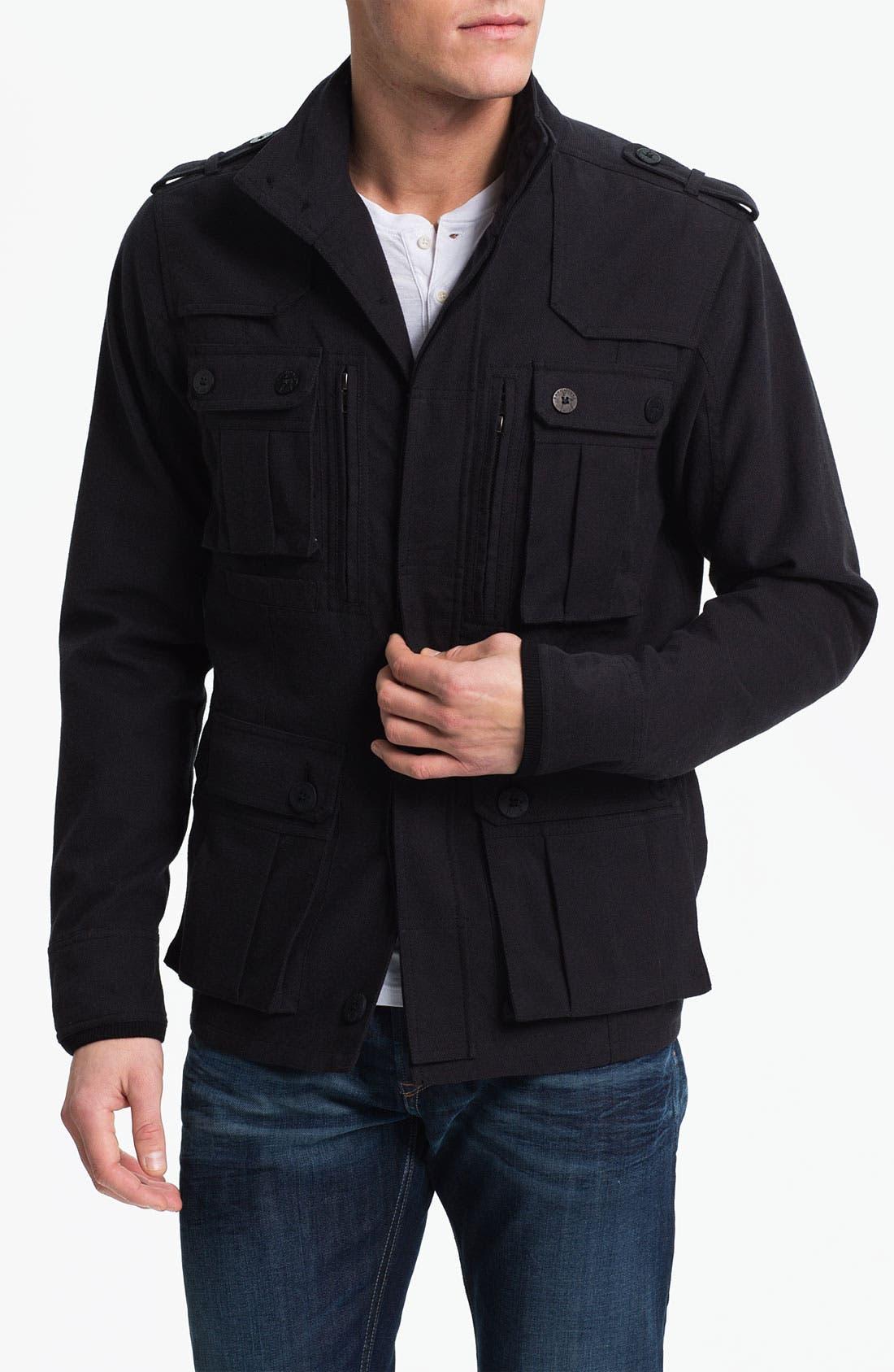 Main Image - Kane & Unke Cotton Twill Field Jacket