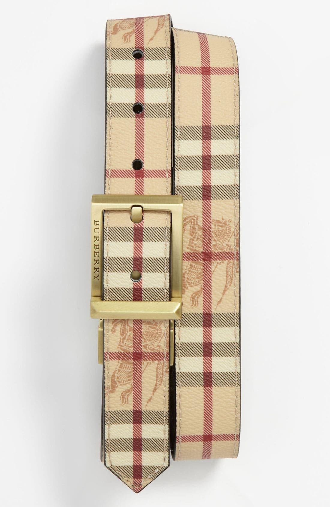 Alternate Image 1 Selected - Burberry Reversible Belt