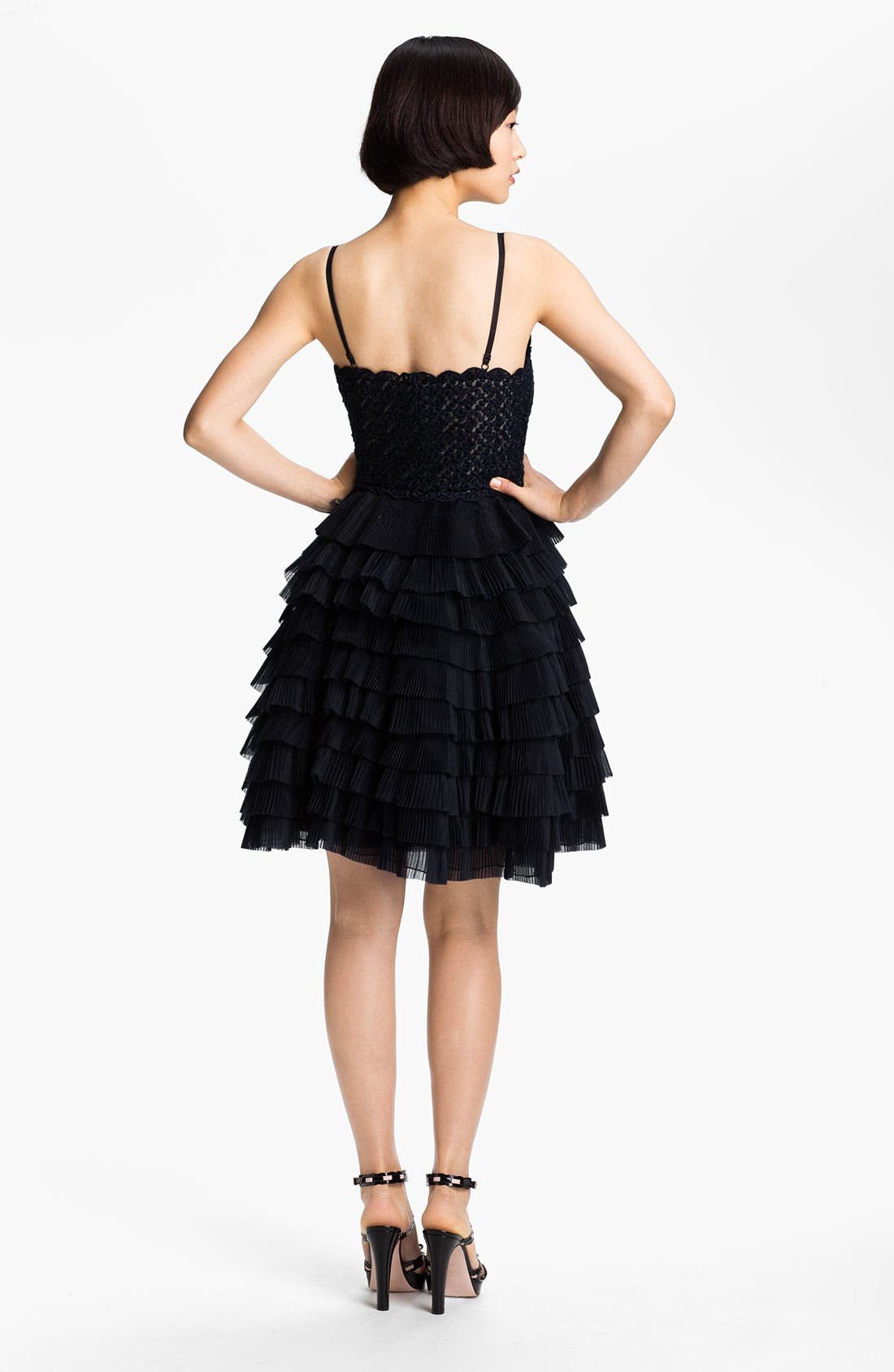 Alternate Image 2  - RED Valentino Full Skirt Organza Dress