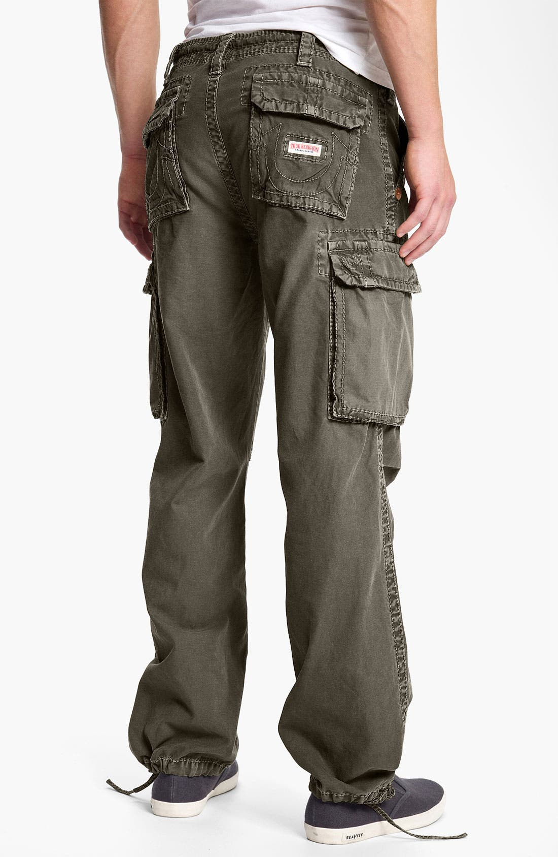 Alternate Image 1 Selected - True Religion Brand Jeans 'Anthony' Straight Leg Cargo Pants (Online Exclusive)
