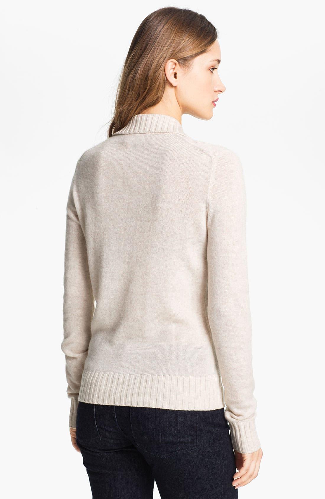 Alternate Image 2  - Tory Burch 'Gertrude' Wool Blend Sweater