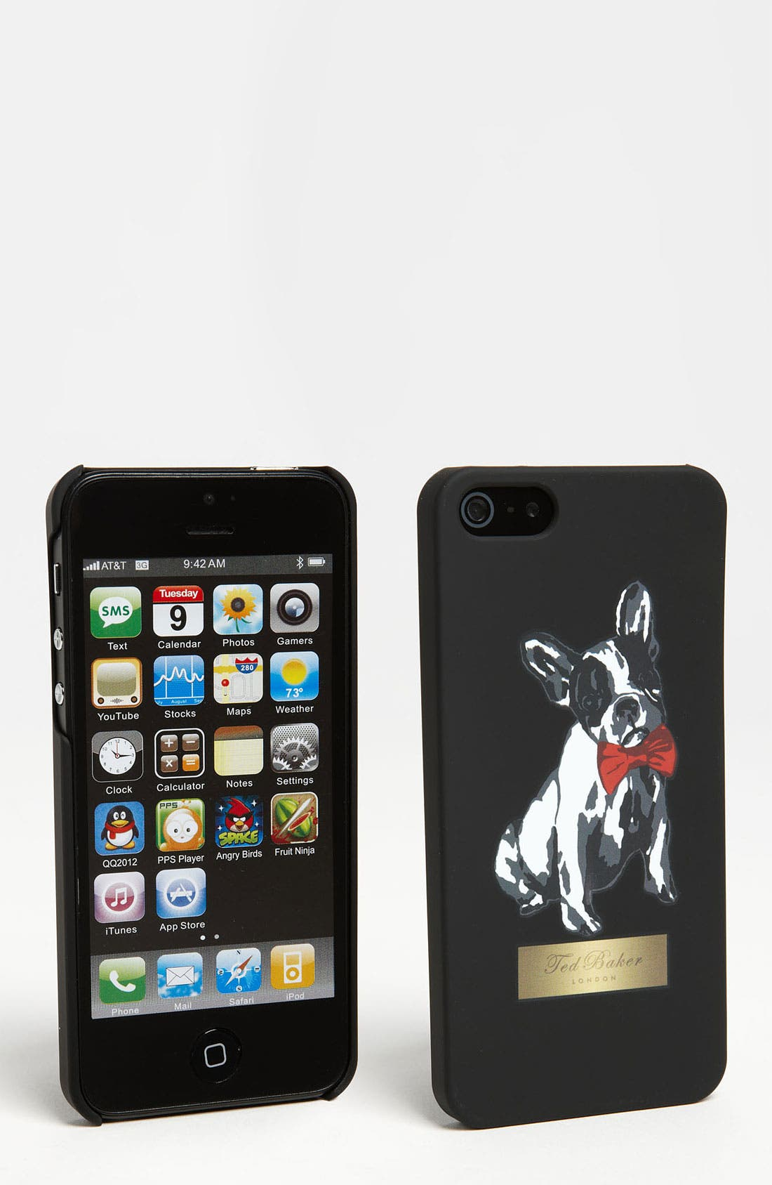 Alternate Image 1 Selected - Ted Baker London 'Cotton Dog' iPhone 5 Case