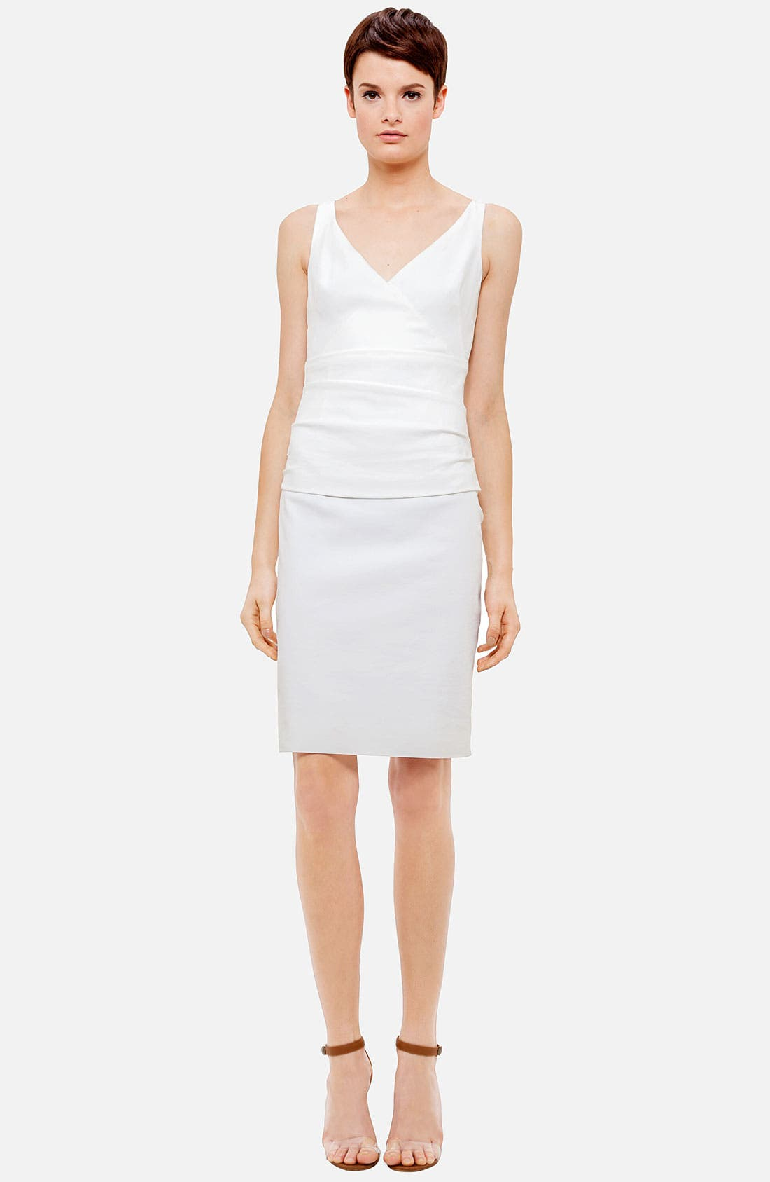 Main Image - Akris punto Cummerbund Techno Dress