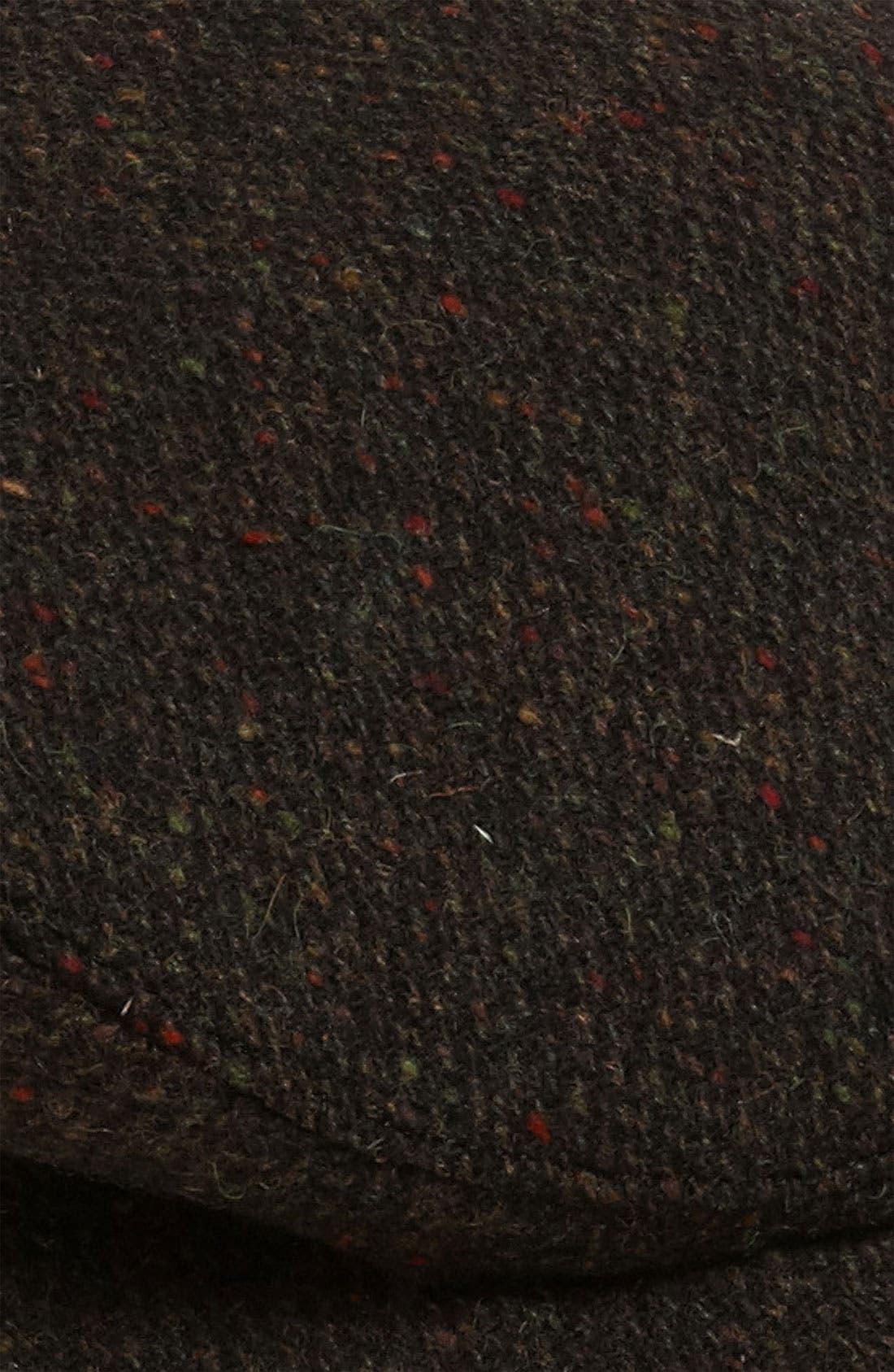 Alternate Image 2  - Wigens Donegal Tweed Earflap Driving Cap