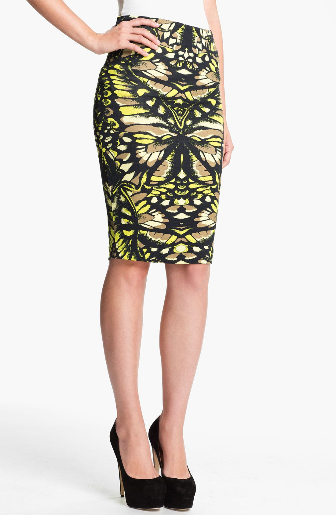 Alternate Image 1 Selected - McQ by Alexander McQueen Print Skirt