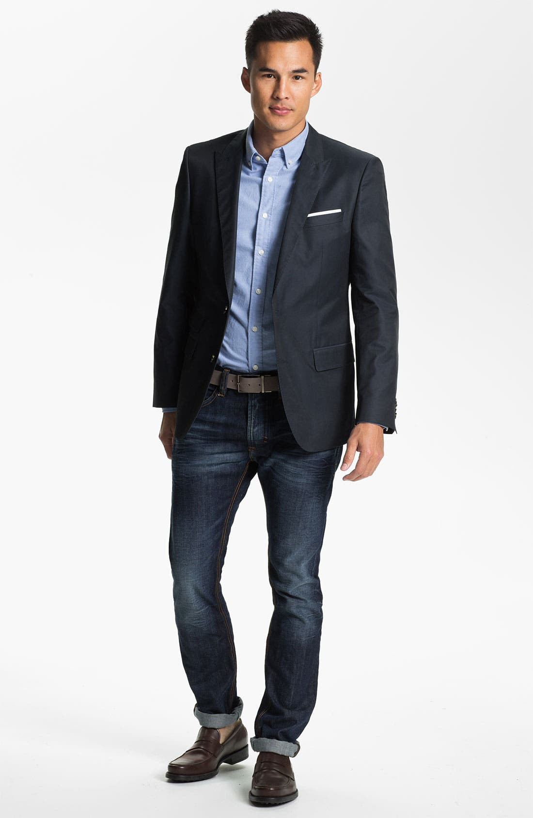 Alternate Image 4  - BOSS HUGO BOSS 'Hold' Trim Fit Blazer