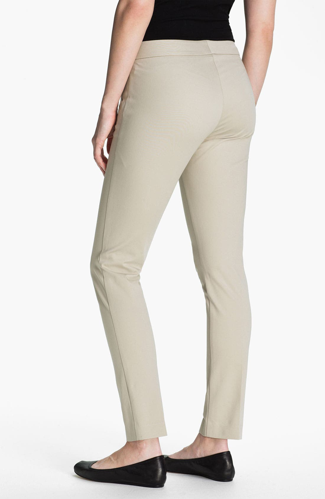 Alternate Image 2  - AWoman 'Devra' Twill Pants