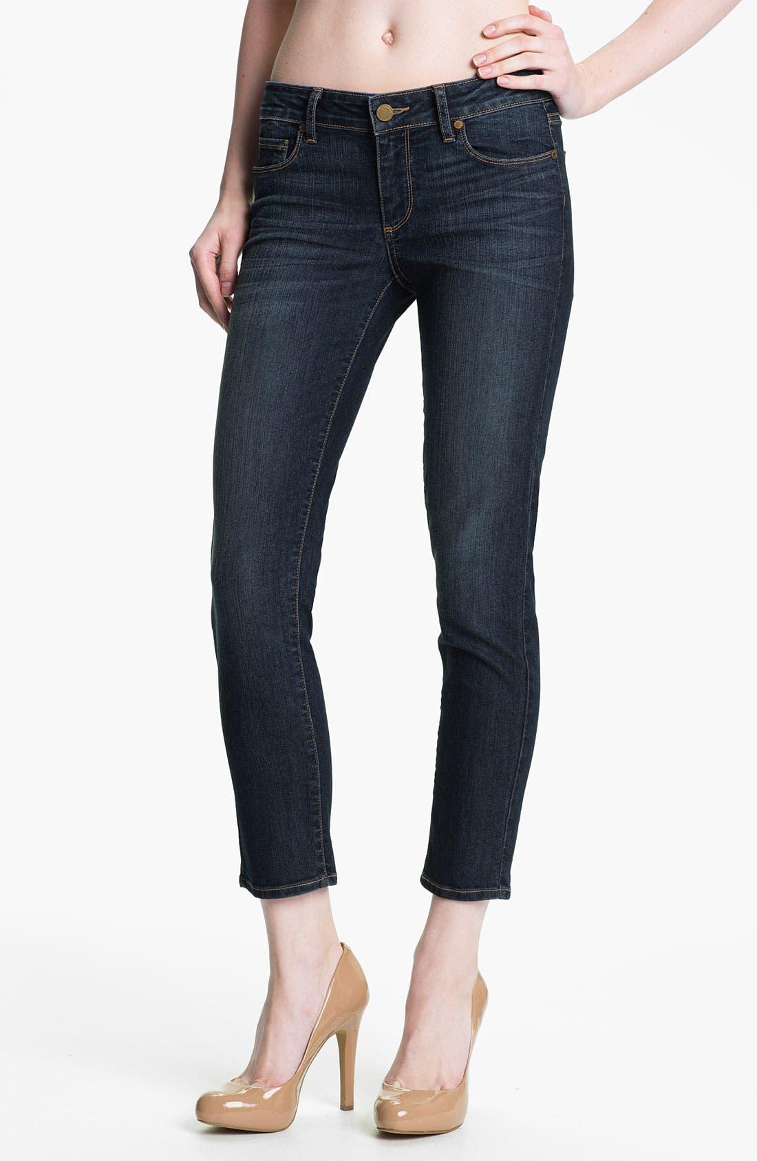 Alternate Image 1 Selected - Paige Denim 'Kylie' Crop Skinny Jeans (Sedona)
