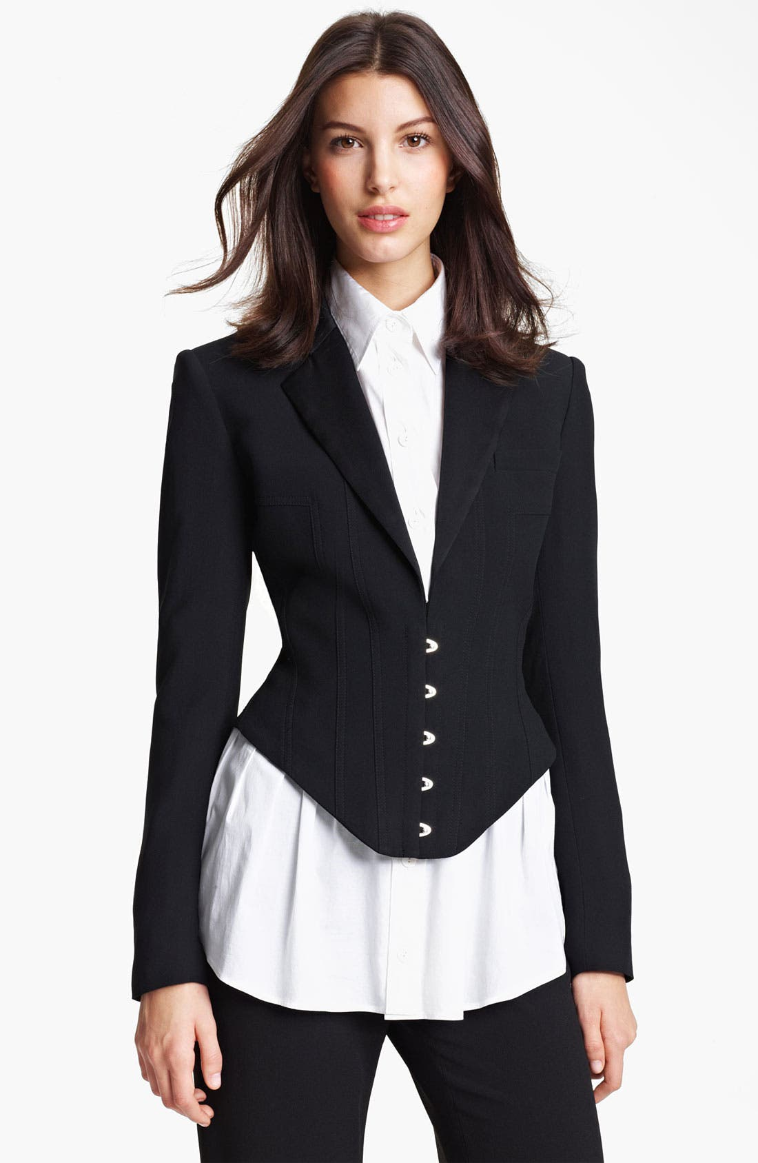 Main Image - Jean Paul Gaultier Lightweight Wool Jacket